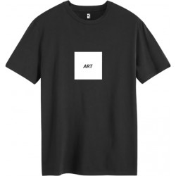 T-SHIRT POETIC COLLECTIVE ART - BLACK WHITE