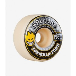 ROUES SPITFIRE FORMULA FOUR F4 CONICAL FULL 99D YELLOW PRINT - 52MM