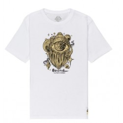 T-SHIRT ELEMENT A WORLD APPART YOUTH - WHITE