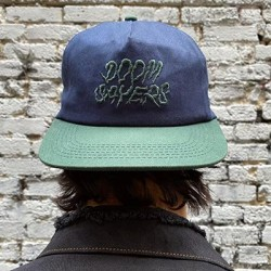 CASQUETTE DOOM SAYERS GHOST RIDE 5 PANEL - NAVY GREEN