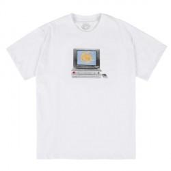 T-SHIRT MAGENTA VCR - WHITE