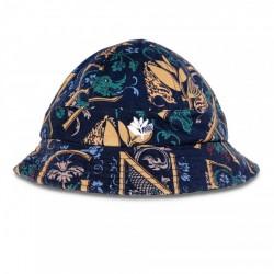 BOB MAGENTA CODEX BUCKET HAT - NAVY