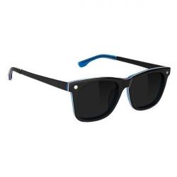 LUNETTES GLASSY MIKEMO HIGH ROLLER POLARIZED - MATTE BLACK BLUE