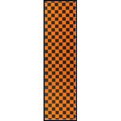 GRIP EBONY CHECKER - BLACK ORANGE