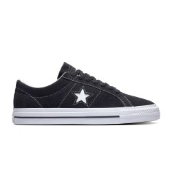 CHAUSSURES CONVERS CONS ONE STAR PRO OX - BLACK BLACK WHITE