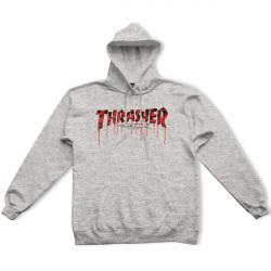 SWEAT THRASHER BLOOD DRIP - ASH