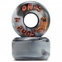 ROUES ORBS PUGS CONICAL BLACK WHITE 85A - 54MM
