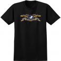 T-SHIRT ANTI-HERO SKATEBOARDS EAGLE SS - NOIR