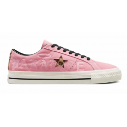CHAUSSURES CONVERSE ONE STAR PRO OX 90S - PINK BLACK EGRET