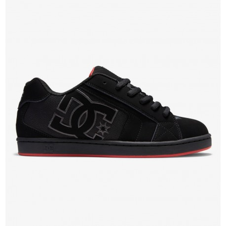 CHAUSSURES DC SHOES NET - BLACK BLACK RED