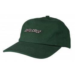 CASQUETTE SANTA CRUZ STRIP CAP - VERT