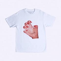 T-SHIRT QUASI MR HAND - WHITE