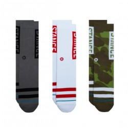 CHAUSSETTES STANCE THE OG 3 PACK - CAMO