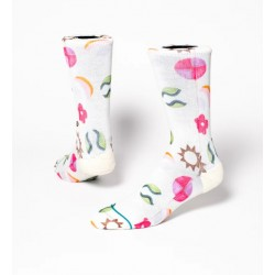 CHAUSSETTES STANCE JAZZY CREW - OFFWHITE