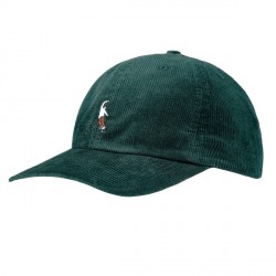 CASQUETTE MAGENTA PWS CORD DAD HATS - GREEN