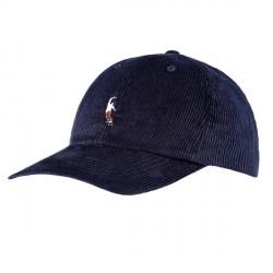 CASQUETTE MAGENTA PWS CORD DAD HATS - NAVY