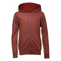 VOLCOM TIMESOFT ZIP FLEECE BDX