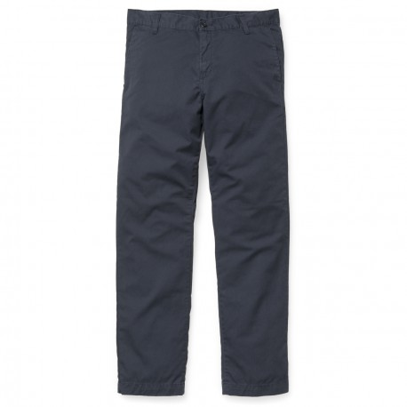 CARHARTT STATION PANT BLUE RINSED