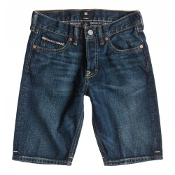 DC STRAIGHT DENIM SHORT BOY LIGHT STONE