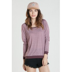 OBEY MICRO STRIPE RAGLAN PORT ROYAL