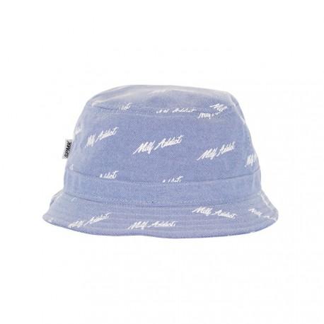 SPMK MILF ADDICT BUCKET HAT OXFORD BLUE