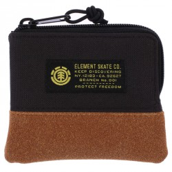 ELEMENT LEGION POUCH WALLET BLACK