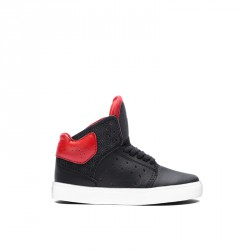 SUPRA KIDS ATOM BLACK/RED BLACK