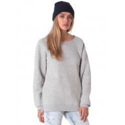 VOLCOM EARLEY CREW SWEAT HEATHER GREY