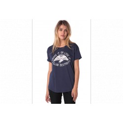 VOLCOM MEXICAN MUSCLE GIRL TEE MIDNIGHT BLUE