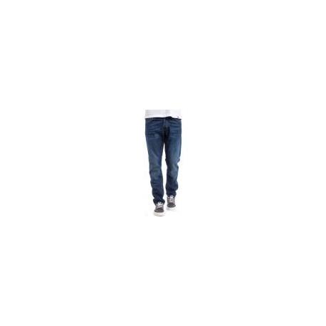 JEAN CARHARTT WIP KLONDIKE II PANT - BLUE NATURAL DARK WASH