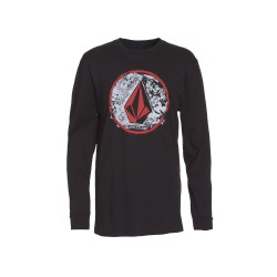 VOLCOM PUNK CIRCLE LS BLACK