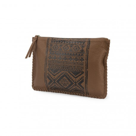 VOLCOM VAQUERA CLUTCH BROWN