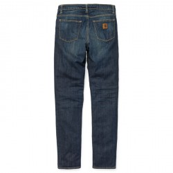 PANTALON CARHARTT WIP DAVIES PANT BLUE NATURAL DARK WASH