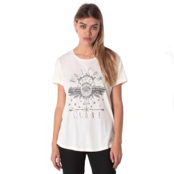 VOLCOM GOOD DAZE SS TEE GIRL WHITE