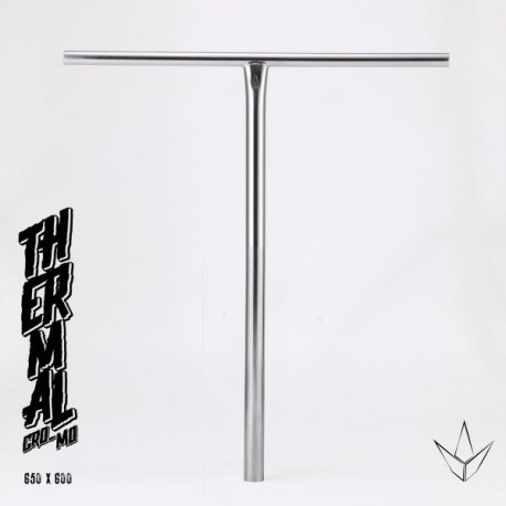 BAR BLUNT THERMAL 650MM - CHROME