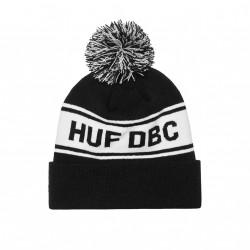 HUF BEANIE DBC POM BLACK