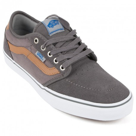 VANS LINDERO 2 HERRINGBONE TWILL GREY WHITE