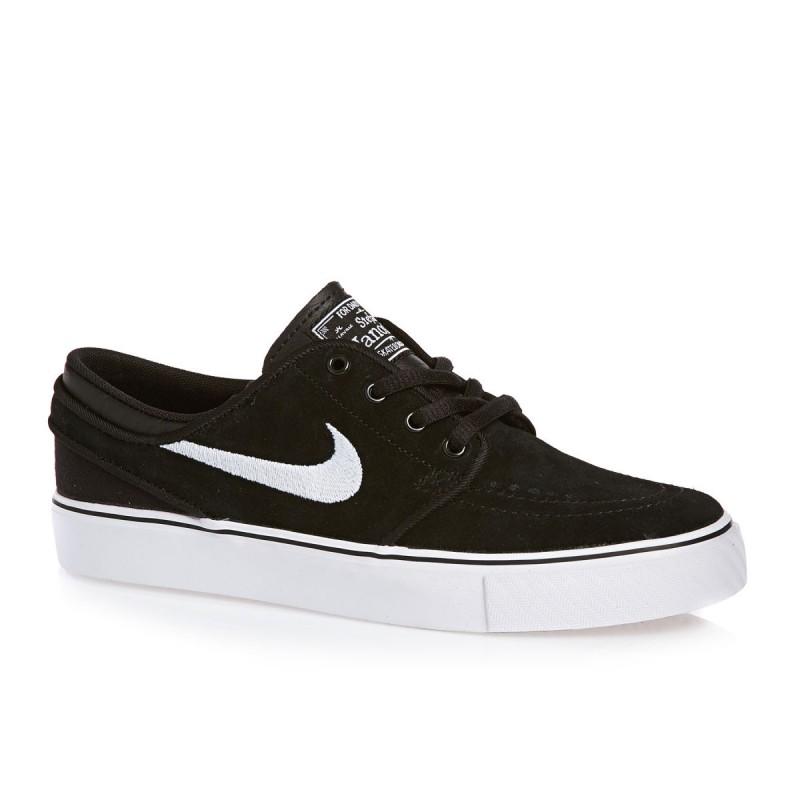 Chaussures Enfant Nike Janoski Gs - Black white
