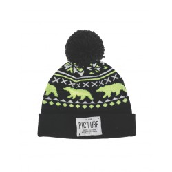 PICTURE ORGANIC RACOON BEANIE BLACK