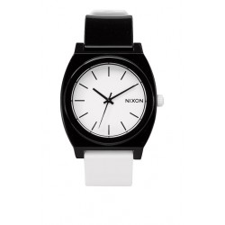 NIXON TIME TELLER P BLACK WHITE