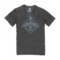 ELEMENT EAGLE KEY SS CHARCOAL HEATHER