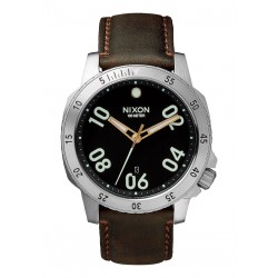 NIXON RANGER 44 LEATHER - BLACK/BROWN