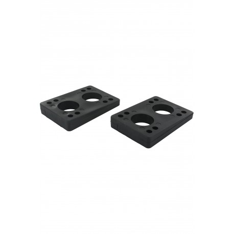 "GLOBE SLANT WEDGE RISER PADS - 1/4""-1/2"" - BLACK"