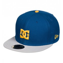CASQUETTE DC SHOES EMPIRE SE - BLUE INDIGO SOLID