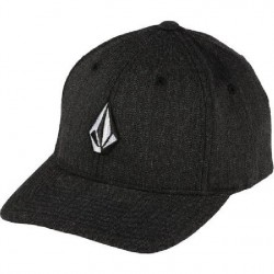VOLCOM FULL STONE FLEXFIT CHARCOAL HEATHER