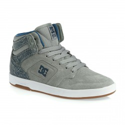 DC SHOES NYJAH HIGH - GREY BLUE