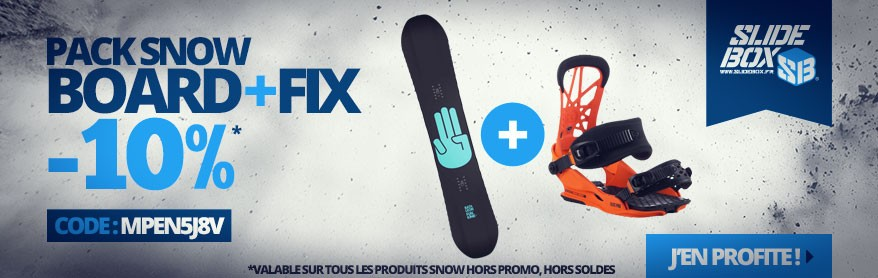 Pack Snowboard -10%