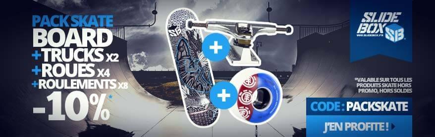 Pack Skateboard -10%